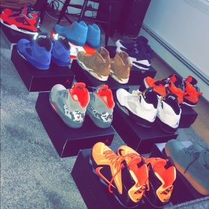 Lots of rare shoes for sale, all size 10.5 or 11.